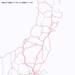 乗りつぶしマップ東日本